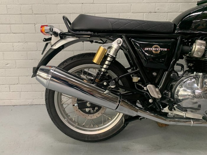 2021 Royal Enfield 2021 ROYAL ENFIELD (SEE ALSO ENFIEL 650CC INTERCEPTOR 650 CLASSIC Road Black