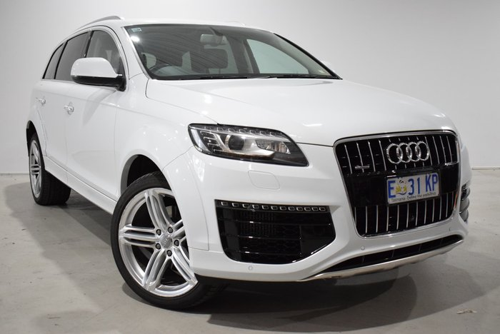 2014 Audi Q7 TDI MY15 Four Wheel Drive White