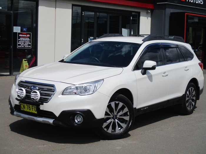 2017 Subaru Outback 2.5i 5GEN MY17 Four Wheel Drive Crystal White