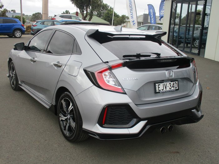 2018 Honda Civic RS 10th Gen MY18 Silver