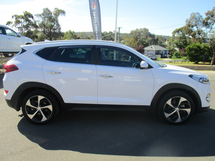 2016 Hyundai Tucson Elite TLe MY17 4X4 On Demand White