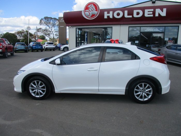 2012 Honda Civic VTi-S 9th Gen White
