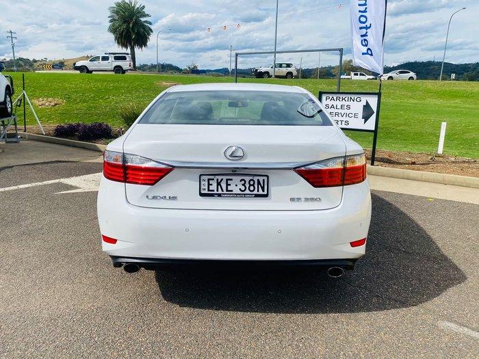 2013 Lexus ES ES350 Sports Luxury GSV60R White