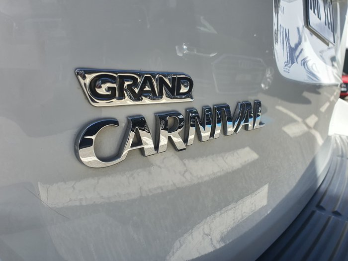 2014 Kia Grand Carnival Si VQ MY14 White