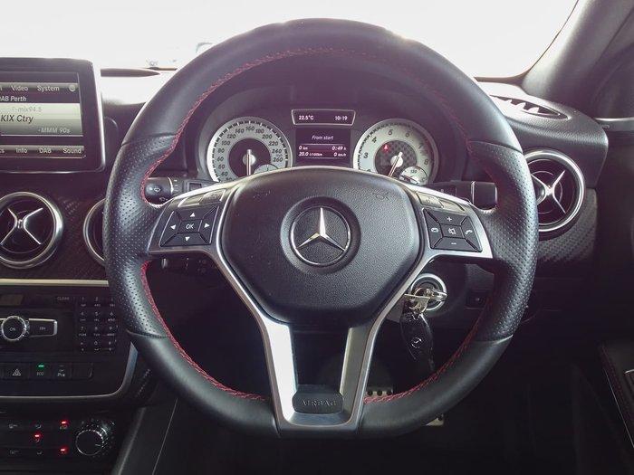 2013 Mercedes-Benz A-Class A200 W176 White
