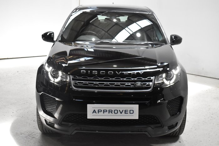 2019 Land Rover Discovery Sport TD4 132kW Landmark L550 MY19 4X4 Constant Narvik Black