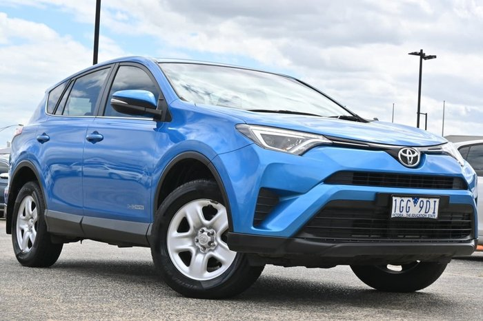 2015 Toyota RAV4 GX ALA49R MY14 4X4 On Demand Blue