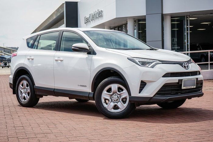 2017 Toyota RAV4 GX ALA49R 4X4 On Demand White