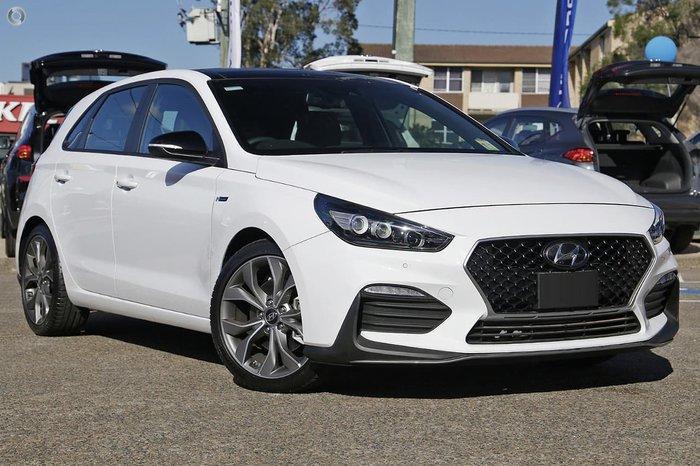 2020 Hyundai i30 N Line Premium PD.V4 MY21 White