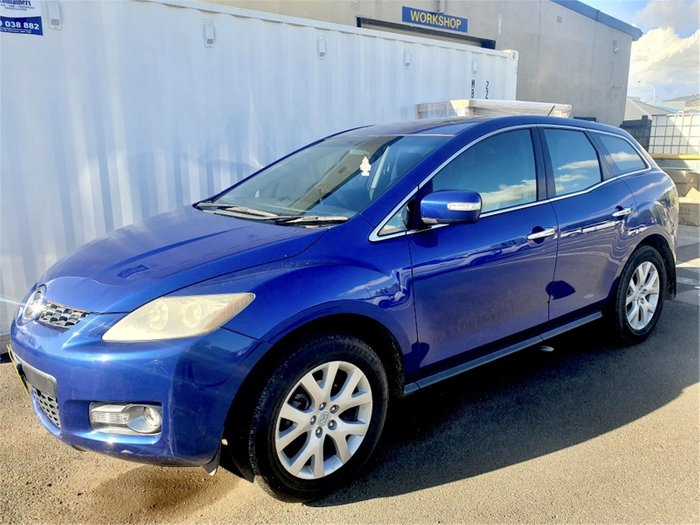 2008 Mazda CX-7 Luxury ER1031 MY07 Blue