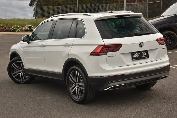 2020 Volkswagen Tiguan 162TSI Highline 5N MY20 Four Wheel Drive White