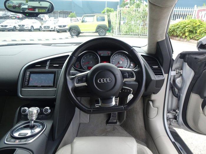 2008 Audi R8 Four Wheel Drive Silver
