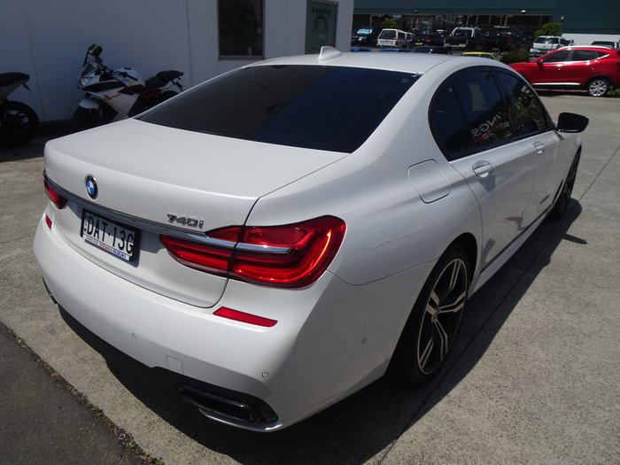 2017 BMW 7 Series 740i G11 White