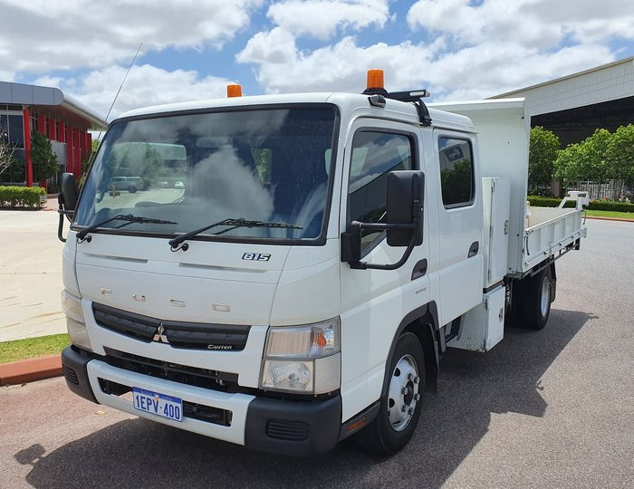 2014 FUSO 815 CANTER WHITE
