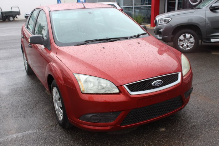2007 Ford Focus CL LT Red