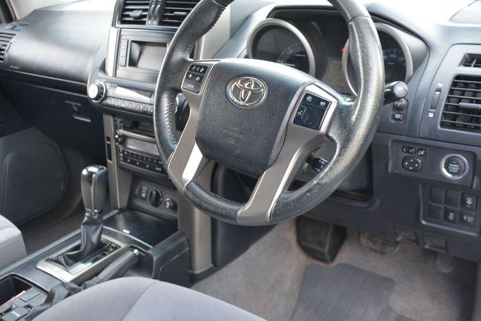 2012 Toyota Landcruiser Prado GXL KDJ150R 4X4 Constant Silver