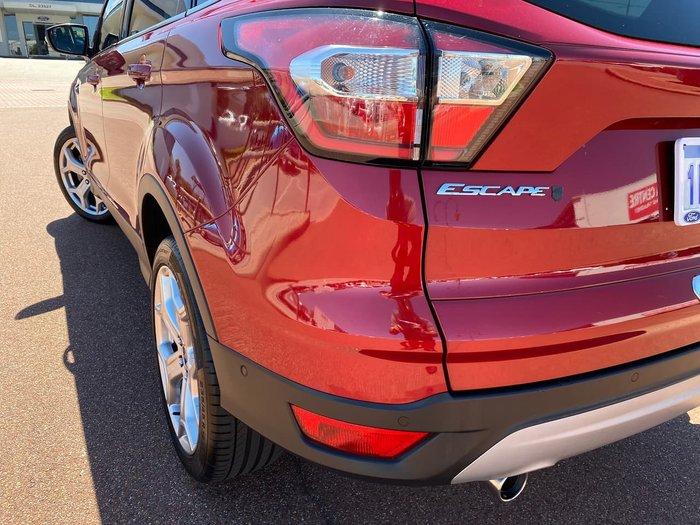 2018 Ford Escape Titanium ZG MY18 4X4 On Demand Red