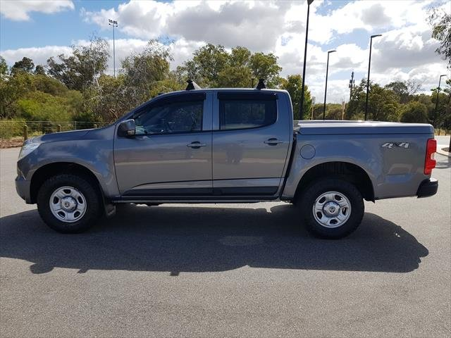 2015 Holden Colorado LS RG MY16 4X4 Dual Range Grey
