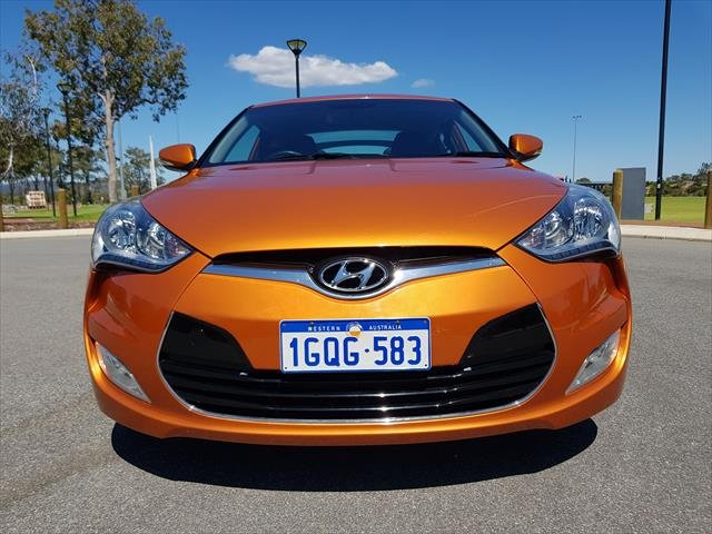 2012 Hyundai Veloster FS Orange