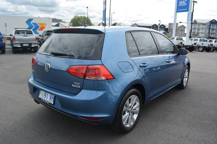 2016 Volkswagen Golf 92TSI Comfortline 7 MY17 Blue