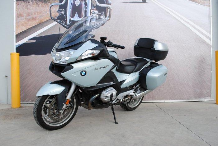 2010 BMW R1200 RT White