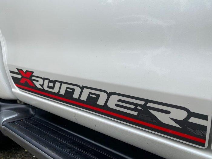 2016 Isuzu D-MAX X-RUNNER MY17 4X4 Dual Range White