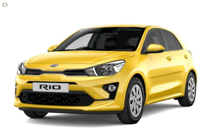2020 Kia Rio S YB MY21 Yellow