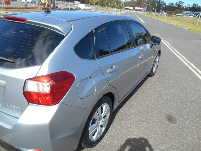 2012 Subaru Impreza 2.0i G4 MY12 Four Wheel Drive Silver