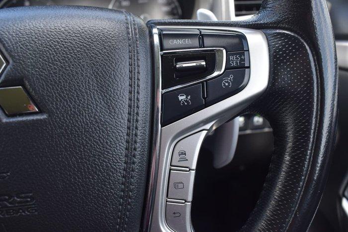 2017 Mitsubishi Pajero Sport Exceed QE MY17 4X4 Dual Range Silver
