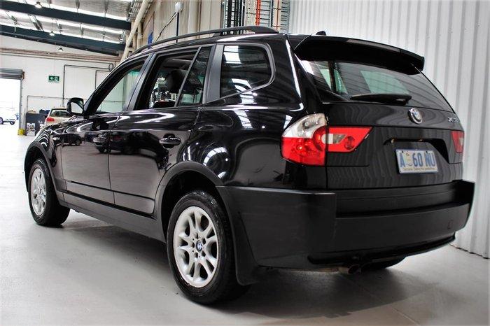2005 BMW X3 E83 MY05 Four Wheel Drive Black