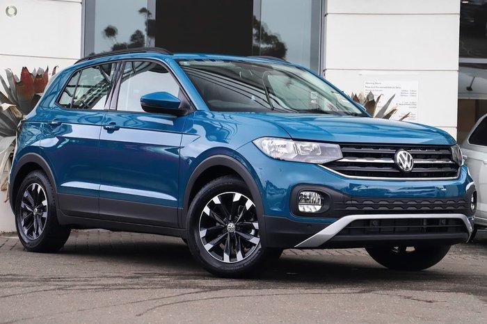 2020 Volkswagen T-Cross 85TSI Life C1 MY20 Blue