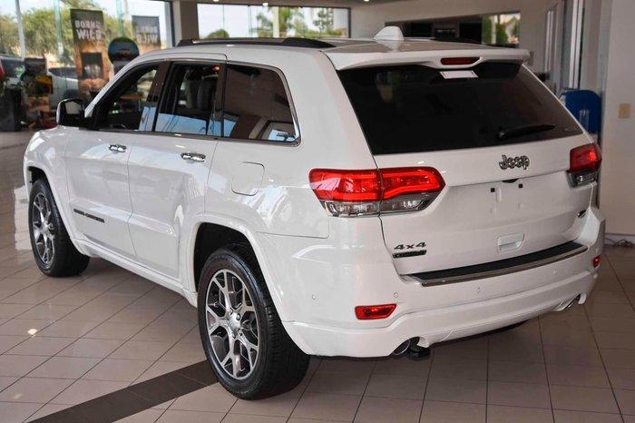 2019 Jeep Grand Cherokee Overland WK MY20 4X4 Dual Range White