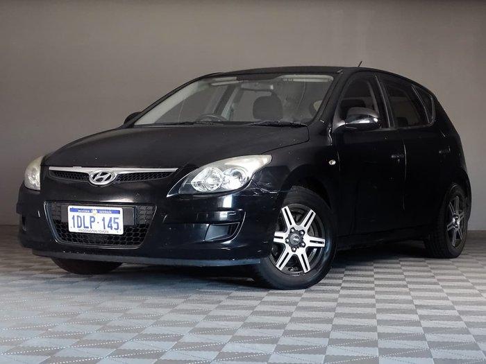 2010 Hyundai i30 SX FD MY11 Black
