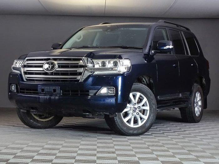 2016 Toyota Landcruiser Sahara VDJ200R 4X4 Dual Range Blue