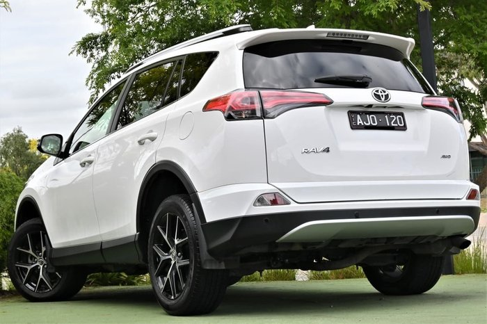 2017 Toyota RAV4 GXL ASA44R 4X4 On Demand White