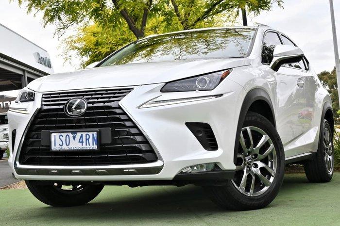 2018 Lexus NX NX300 Luxury AGZ10R White