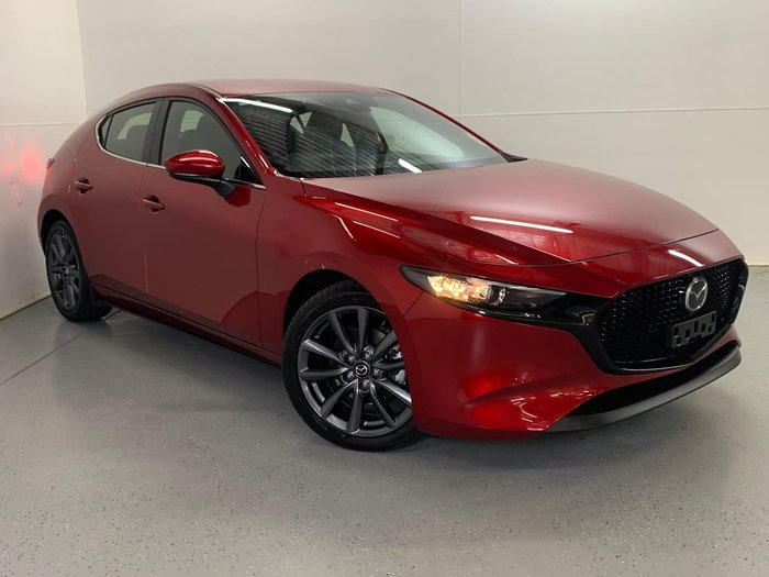 2020 Mazda 3 G25 GT BP Series Red