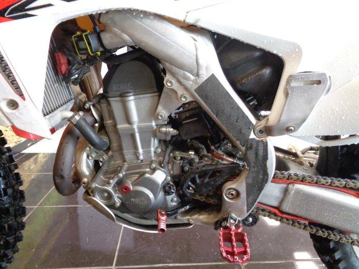 2014 Honda CRF450R WHITE