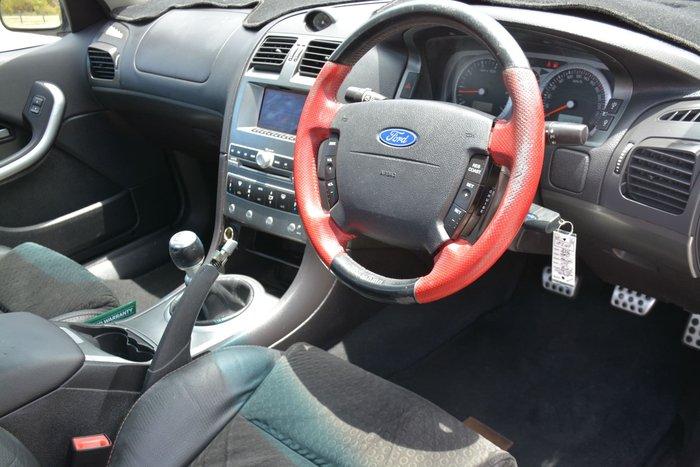 2006 Ford Falcon Ute XR8 BF Black