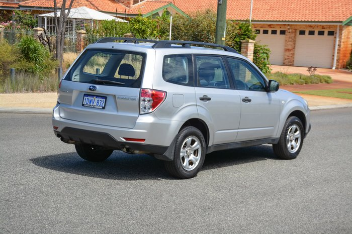 2011 Subaru Forester X S3 MY11 Four Wheel Drive Silver