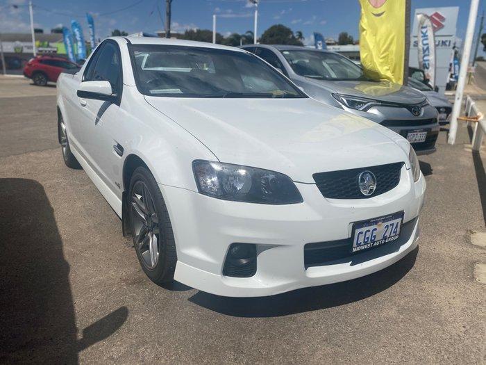 2011 Holden Ute SV6 VE Series II MY12 White