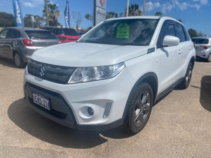 2015 Suzuki Vitara RT-S LY White
