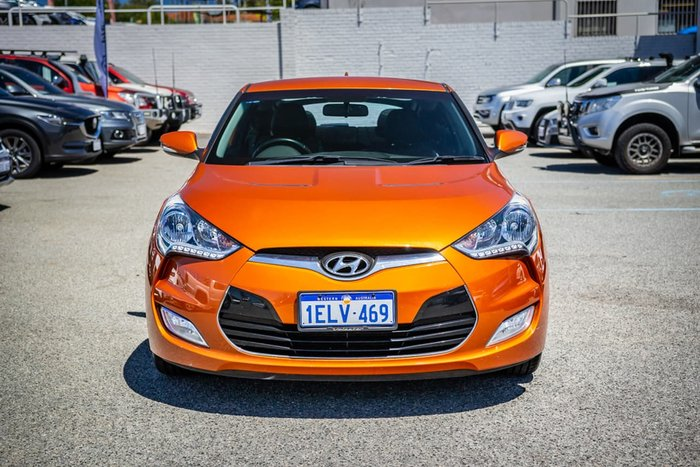 2014 Hyundai Veloster FS2 Orange