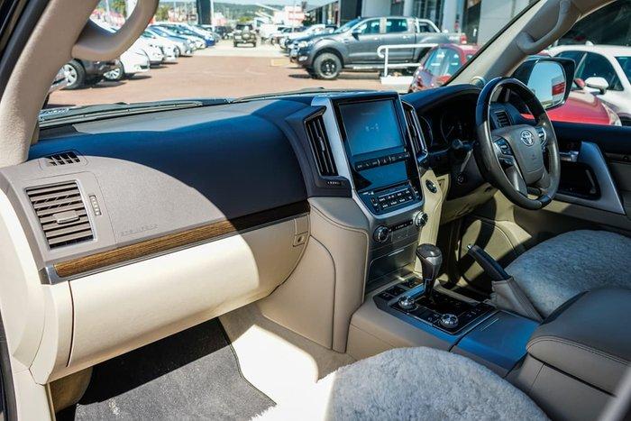 2019 Toyota Landcruiser Sahara VDJ200R 4X4 Dual Range Blue
