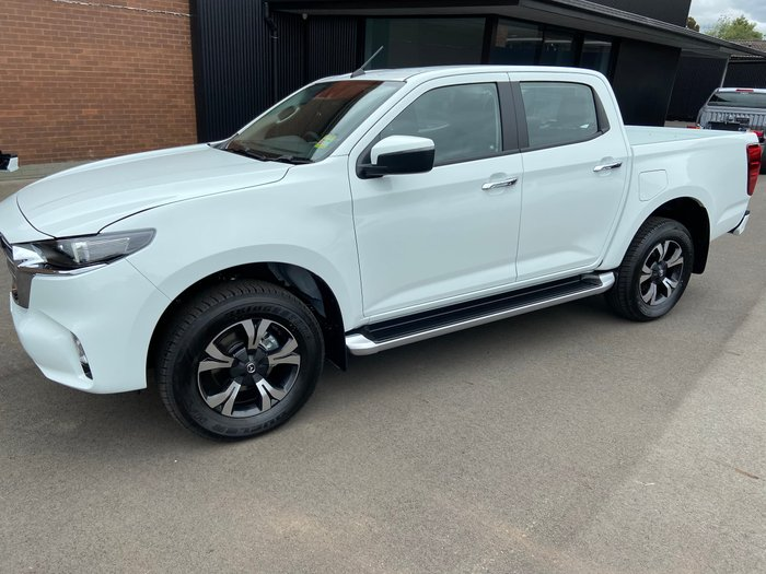 2020 Mazda BT-50 XTR TF 4X4 Dual Range Ice White
