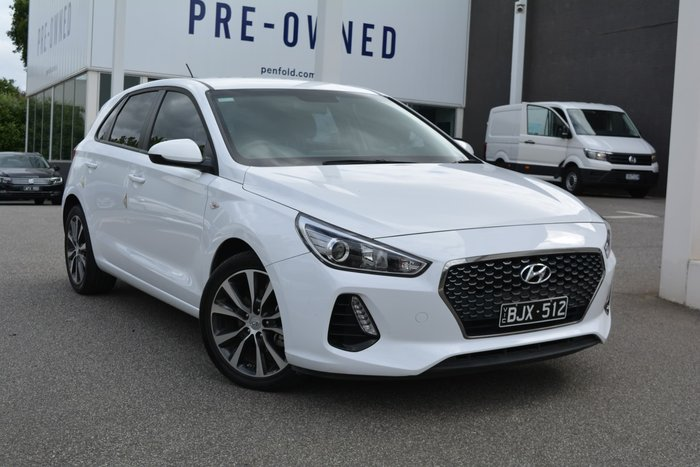 2018 Hyundai i30 Trophy PD2 MY18 White