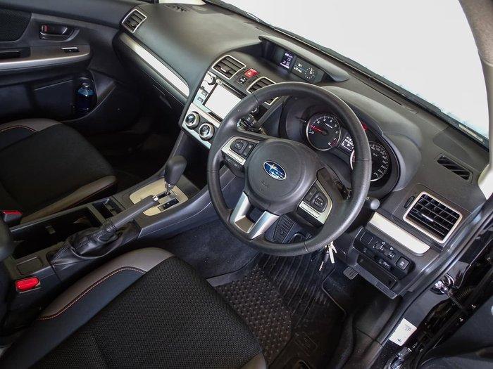 2016 Subaru XV 2.0i G4X MY16 Four Wheel Drive Black