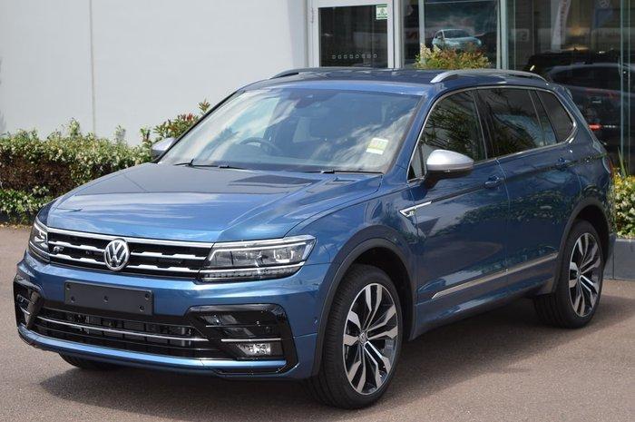 2020 Volkswagen Tiguan 162TSI Highline Allspace 5N MY20 Four Wheel Drive Blue