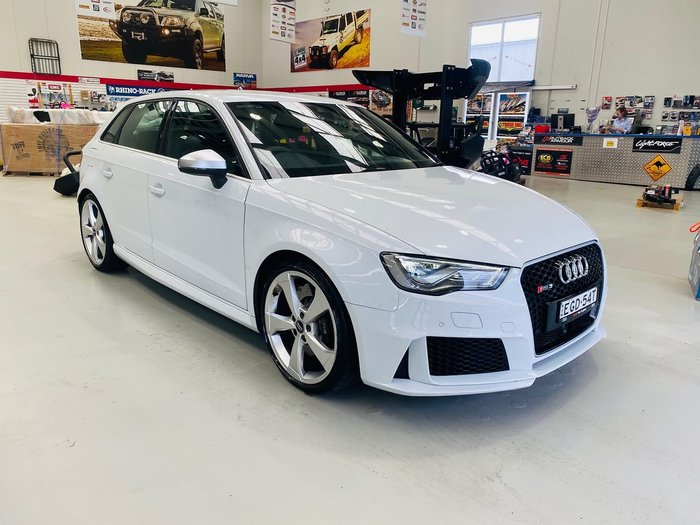 2016 Audi RS3 8V MY16 Four Wheel Drive White