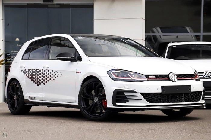 2020 Volkswagen Golf GTI TCR 7.5 MY20 White